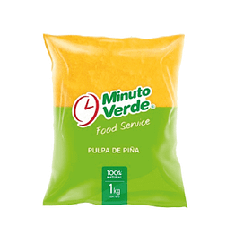 Pulpa de piña Minuto Verde