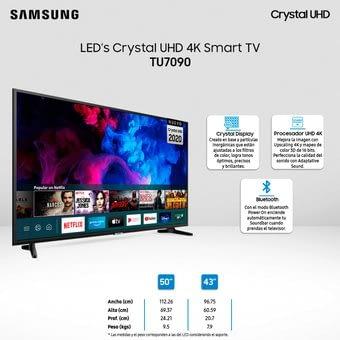 Smart Tv Led 55 Crystal
