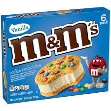 Helado M&M Sandwich